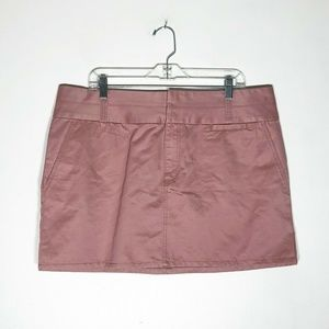 Old Navy Skirt Womens 16 Dusty Rose Pink Cotton Mi
